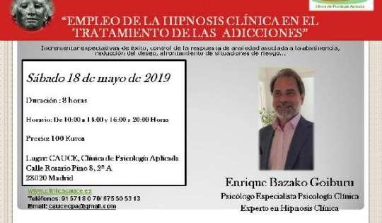 HIPNOSIS APLICADA EN ADICCIONES